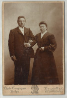 **  OUDE FOTO *** PHOTO COMPAGNIE  BELGE - BRUXELLES. - Anonymous Persons