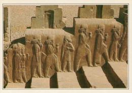 IRAN    PERSEPOLIS:  LA SCALA  DEL  PALAZZO     (NUOVA CON DESCRIZIONE DEL SITO) - Iran