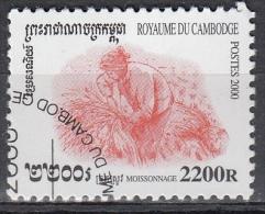 Cambogia, 2000 - 2200r Harvesting - Nr.1968 Usato° - Cambogia