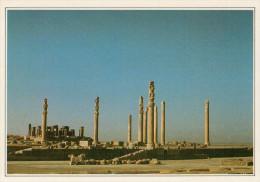IRAN   PERSEPOLIS: L'APADANA  DI  DARIO    (NUOVA CON DESCRIZIONE DEL  SITO) - Iran