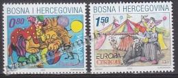 Bosnia Herzegovina - Mostar - Croatia 2002 Yvert 67-68, Europa Cept. Circus - MNH - Bosnien-Herzegowina