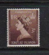 366 - TOKELAU , 1953 : Incoronazione Di Elisabetta  *** - Tokelau