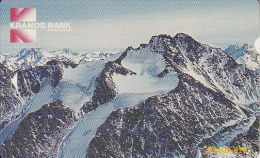 KYRGYZSTAN(Alcatel) - Kramds Bank/Mountains, First Issue 40 Units, Used - Kyrgyzstan