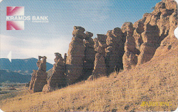 KYRGYZSTAN(Alcatel) - Kramds Bank/Natural Pyramids, First Issue 20 Units, Used - Kyrgyzstan