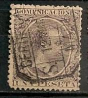 Timbres - Espagne - 1889-1899 -  1 Peseta -