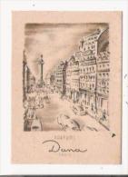 PARFUMS DANA PARIS CARTE PARFUMEE ANCIENNE - Cartes Parfumées
