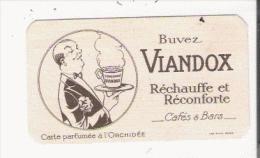 VIANDOX CARTE PARFUMEE ANCIENNE PARFUMEE A L'ORCHIDEE - Perfume Cards