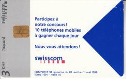 Taxcard Swisscom - Swisscom - Opérateurs Télécom