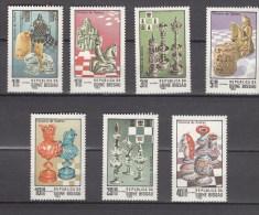 Guinea-Bissau 1983,7V,schach,chess,schaken,jeu D'échecs,ajedrez,scacchi,MNH/Postfris(A1624) - Schaken