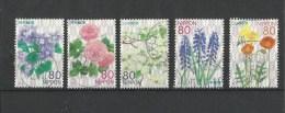 82.  2012 JAPAN Seasonal Flowers Series/2 Prefectural Of Stamps Very Fine Used - Used Stamps