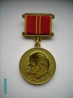 RUSSIA  USSR ,  MEDAL LENIN 1870-1970  ,0 - Russie