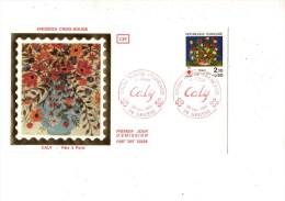 ENVELOPPE 1ER JOUR---CALY-FêTE A PARIS---06 GRASSE---24 NOVEMBRE 1984 - FDC