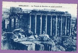 Asie LIBAN BAALBECK Temple De Bacchus Au Soleil Couchant - Liban