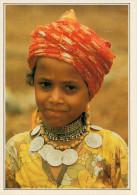 YEMEN:  DJAHAT:   GIOVANE  RAGAZZA     (NUOVA CON DESCRIZIONE DEL SITO) - Yemen