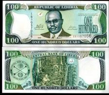 Liberia 100 Dollars 2009  Pick 30 UNC - Liberia
