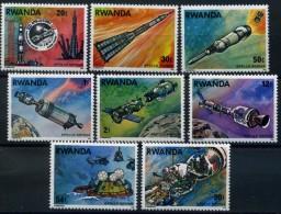 RWANDA 1976 Jonction Apollo-Soyouz - Rwanda ** 745/52   **   LUXE **  MNH - Africa