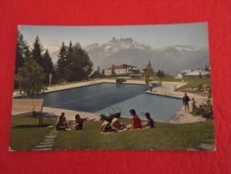 Vaud Leysin La Piscine 1966 Small Size 9x14 - VD Vaud