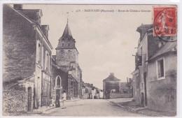 Bazouges Route De Château Gontier - France