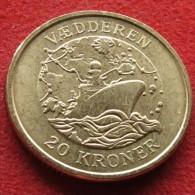 Denmark 20 Kr 2007 Vaedderen Danemark Dinamarca - Danemark