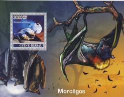 MDA-BK1-475 MINT ¤  GUINEE BISSAU 2007 BLOCK  ¤ BATS - MAMMALS - VLEERMUIZEN - MORCEGOS - Vleermuizen