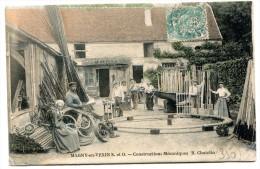 CPA 95 MAGNY EN VEXIN CONSTRUCTIONS MECANIQUES R. CHATELIN 1906 Un Grand Choix De Cartes Dans Le Département 95 - Magny En Vexin
