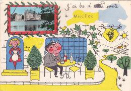 Cpsm Illustrée  JP (Jean De Preissac) J'ai Bu à Ta Santé à MISSILLAC - Missillac