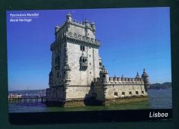 PORTUGAL  -  Lisbon  Belem Tower  Used Postcard As Scans - Lisboa
