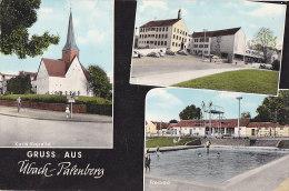 Cpa Gruss Aus Übach Palenberg (Karls Kapelle, Rathaus, Freibad) - Übach-Palenberg