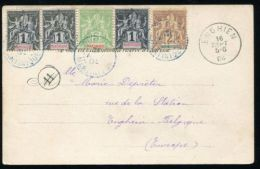MARTINIQUE FRENCH WEST INDIES GOOD POSTMARK 1904 - Martinique (1886-1947)