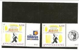 PAIRE  3688A  Logo Cérès Et Timbres Personnalisés NEUFS XX - Gepersonaliseerde Postzegels