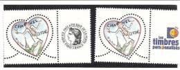 PAIRE  3633A  Logo Cérès Et Timbres Personnalisés NEUFS XX - Gepersonaliseerde Postzegels
