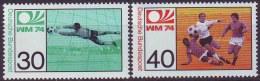 GERMANY - WM  GERMANY - FOOTBALL - **MNH - 1974 - Coppa Del Mondo