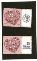 PAIRE  3747A  Logo Cérès Et Timbres Personnalisés NEUFS XX - Gepersonaliseerde Postzegels