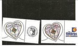 PAIRE  3632A  Logo Cérès Et Timbres Personnalisés NEUFS XX - Gepersonaliseerde Postzegels