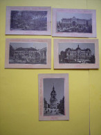 Lot De 5 Chromos  N & B Chocolat Ibled  Ville D'Amiens - Ibled