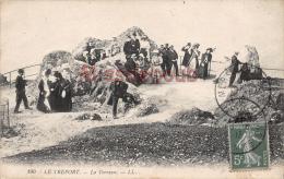 76 - LE TREPORT  - La Terrasse - Lot De 4 - 8 Scans - - Le Treport