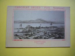Chromo N & B Chocolat Ibled  Ville De Carthage Tunisie - Ibled