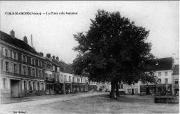 Viels Maisons Aisne Place Boutiques Poste Bazar épicerie Mercerie 1910 ÉTAT SUPERBE - Frankrijk