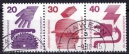 BRD Mi. Nr.W 41 696/698/699 A O (3-34) - [7] République Fédérale