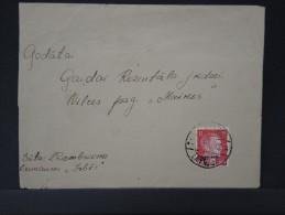 RUSSIE - OCCUPATION ALLEMANDE  LETTRE  AVEC CONTENU 1943  A VOIR A ETUDIER LOT P3135