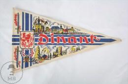 Vintage Belgium - Dinant, Namur Province Pennant/ Flag - Otros
