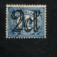 NEDERLAND GEBRUIKT USED OBLITERE YVERT NR 112 NVPH NR 115 - 1891-1948 (Wilhelmine)