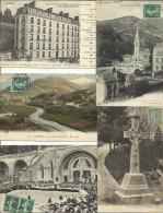 LOT DE 153 CARTES POSTALES ANCIENNES ET 10 CPSM DE LOURDES (HAUTES PYRENEES). - Lourdes