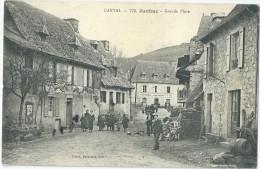 15 - JUNHAC - Grande Place - Loubière Aubergiste - Other Municipalities