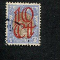 NEDERLAND GEBRUIKT USED OBLITERE YVERT NR 116 NVPH NR 119 - Periode 1891-1948 (Wilhelmina)
