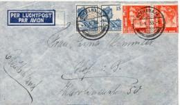 INDES NEERLANDAISES LETTRE POUR L'ALLEMAGNE 1936 - Niederländisch-Indien