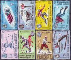 QUAITI STATE  HADHRAMAUT - WINTER  OLYMPIC  GRENOBLE - **MNH - 1968 - Winter 1968: Grenoble