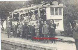Napoli Linea Tranviaria Del Vesuvio Stazione/treno/binari/tram/ferrovia Molto Bella - Napoli (Naples)