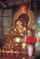1 AK Malaysia * The Statue Of The Laughing Buddha Sits Magnificently In A Chinese Temple In Penang * - Malaysia