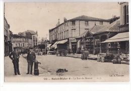 Saint Dizier - La Rue Du Marché - Saint Dizier